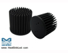GooLED-LUN-6860 Pin Fin Heat Sink Φ68mm for Luminus Xnova