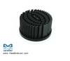 xLED-CRE-6030 Pin Fin Heat Sink Φ60mm for Cree
