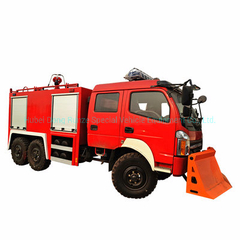 Dongfeng off Road 6X6 Awd Water Tanker Fire Truck 4000L (1000 Gallons) for Forest Fire Fighting