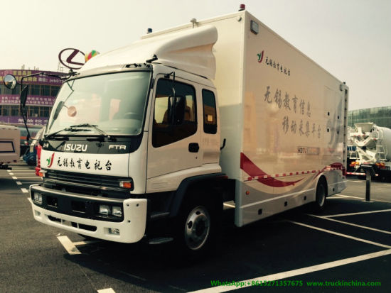 Isuzu HD Ob Van (4 HD HDTV Outdoor Broadcasting OB Van For TV Studio)