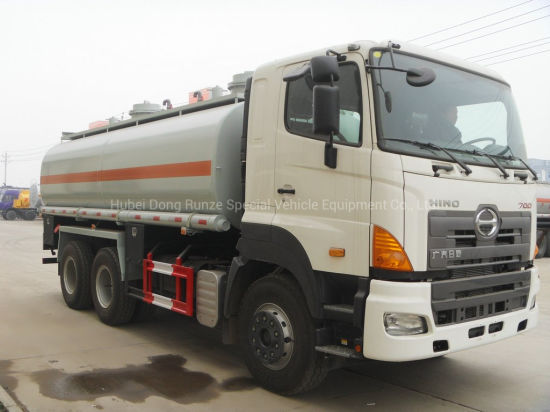 Hino 700 6X4 Tanker Truck 350HP 15000~16000L (For Chemical Acid Liquid, Drink Water, Oil, Carbon Steel / Stainless Steel, Lined PE Tank)