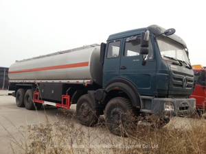 Beiben Offroad Diesel Tanker for Petroleum Oil, Gasoline, Petrol, Diesel Transportation with Pto Pump 30, 000L 12 Wheels (Fuel Bowser)