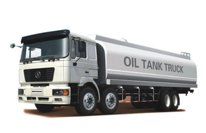 Euro 3, Euro 4 Shacman Raod 8X4 F2000 Fuel Tanker for Sale 30000L~40000L