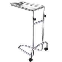 Rolling Stainless Steel Mayo Tray Medical Instrument Stand II