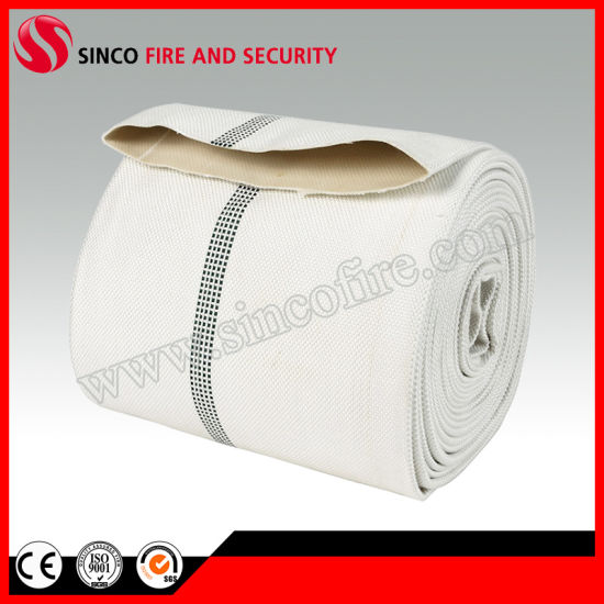 8 Inch Canvas Fire Hydrant Hose with PVC Material Lining