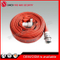 Red Fire Hose with John. Morris BS Fire Hose Coupling