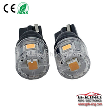 halogen bulb size Canbus 5SMD amber T10 LED Car Interior Light roof light width light