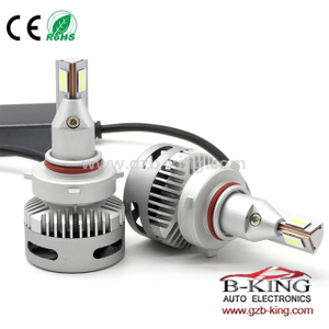 9-30V 40W 5000lm compact HB3(9005) HB4(9006) car LED headlight bulb for projector lens
