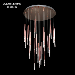 Luxury Interior Decorating Lights Home Decor Ceiling Lighting Decorative Indoor K9 Cystal Chandeliers Pendant Lamp