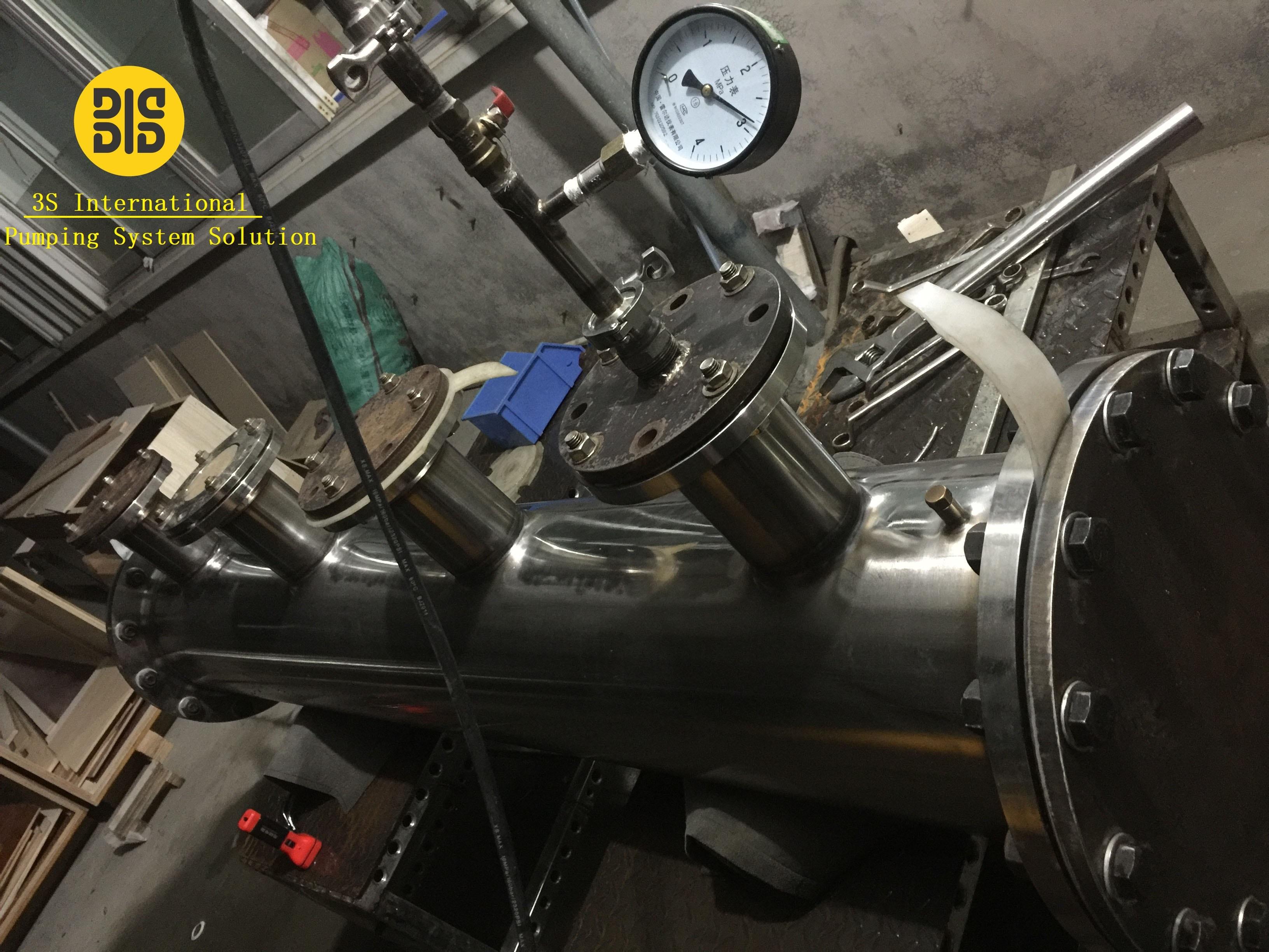 Hydrotest manifold