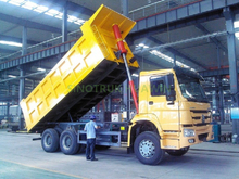 HOWO 6X4 Dump Truck Front Tipping