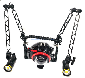 12 inches /8 inches Underwater Strobe Dive Photo Video Light Arm Tray System
