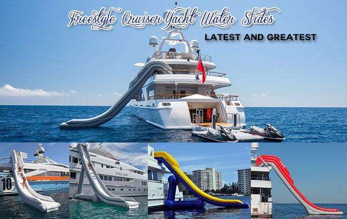 with different yacht slide
