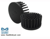 GooLED-LUM-11050 Pin Fin Heat Sink Φ110mm for LumiLEDs