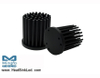 GooLED-VOS-4850 Pin Fin Heat Sink Φ48mm for Vossloh-Schwabe