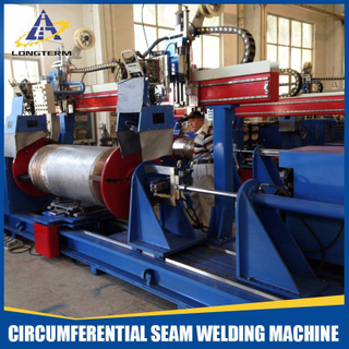 Circumferential Seam Welding Machine for LNG Cylinder
