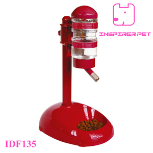 Pet Travel Feeder and Drinker Pole-type, 500ML