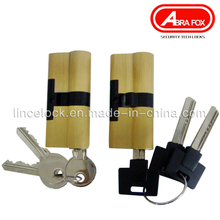 Top Security Isreal Type Brass Cylinder, Normal Key, Computer Key (701)