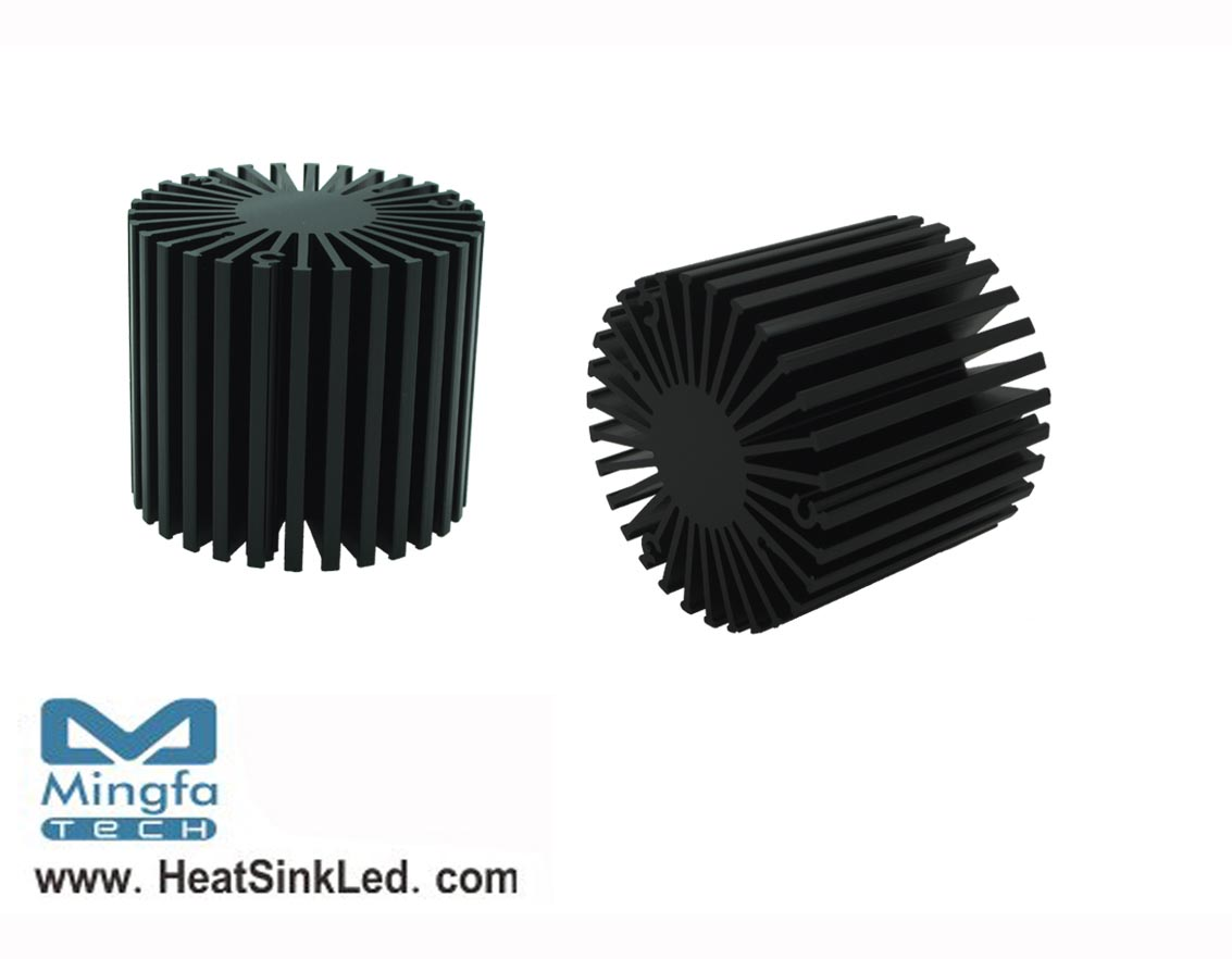SimpoLED-LUN-5850 for Luminus Xnova Modular Passive LED Cooler Φ58mm