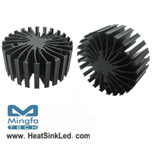 EtraLED-BRI-11050 for Bridgelux Modular Passive LED Cooler Φ110mm