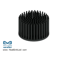 GooLED-LUN-8650 Pin Fin Heat Sink Φ86.5mm for Luminus