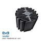 eLED-BRI-9580 Bridgelux Modular Passive Star LED Heat Sink Φ95mm