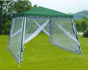 Waterproof PE Garden Tent With Mosquito Net