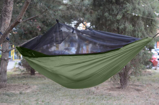 Camping Sleeping Hammock Intergrated with Bug Net