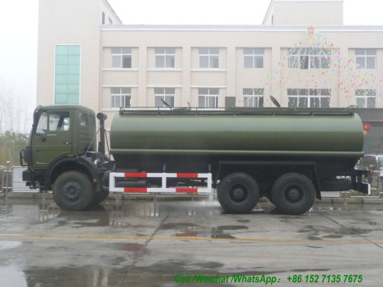 North Benz 20cbm Water Tanker Truck (Beiben 2534 Off road 6X6 All Wheel Drive 18m3)