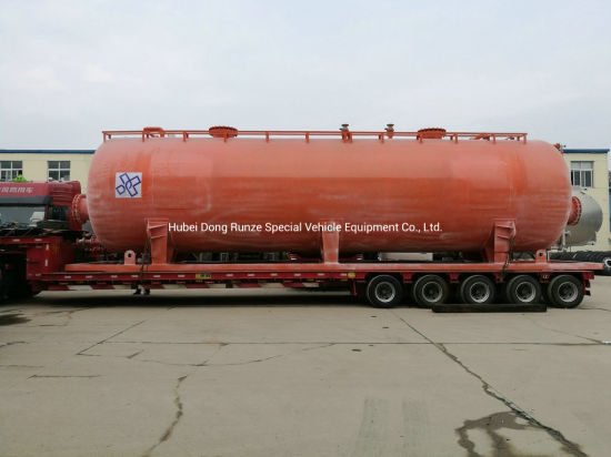 Skid Storage Tank for Acid (HCl 35% Oil Fied Chemical Hydrochloric Acid Capacity 60 m3(500bbl) Liend Plastic (L LDPE 7042) or Mobile Liquid Storage Frac Tank