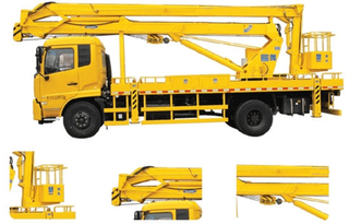 Dongfeng King Run 22-24m Overhead Working Truck Option 4X2.4X4 LHD. Rhd