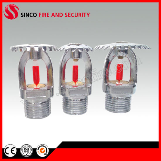 68 Celsius Degree 1/2 Inch Upright Type Fire Sprinkler