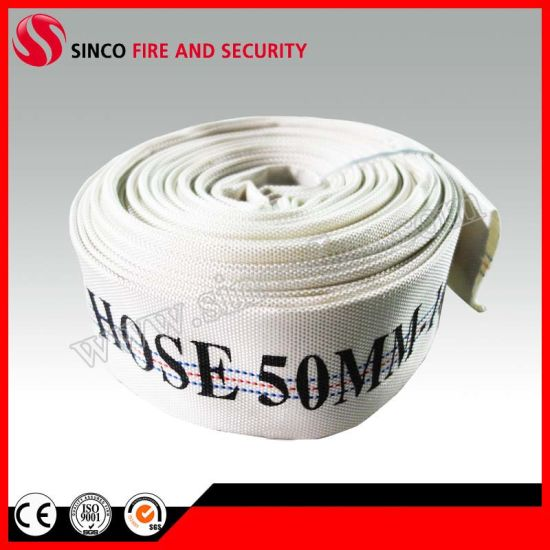Colorful Canvas Fire Resistant Lined Hose Manufacturer
