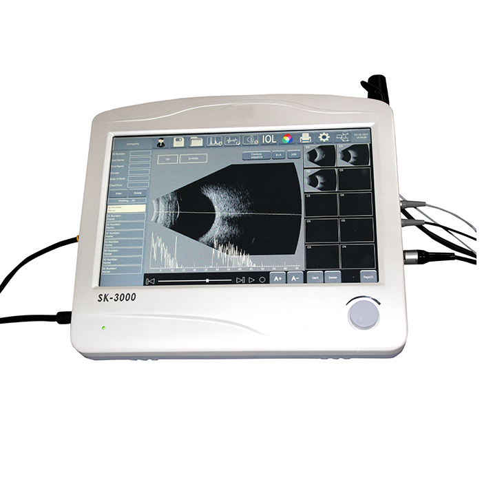 SK-3000 ABP Scanner ,China Ophthalmic A Scan B Scan and Pachymeter