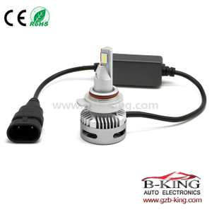 9-30V 40W 5000lm 9012 HIR2 car LED headlight bulb (for projector lens )
