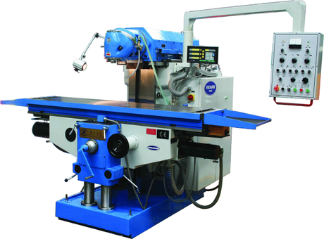 MHD1600. Universal Mill ISO 50, 1635mm x 500mm Table, 3 Axis Servo Drive & Feeds,