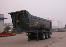 SINOTRUK 3 Axles Tipper Semi Trailer-U Shape
