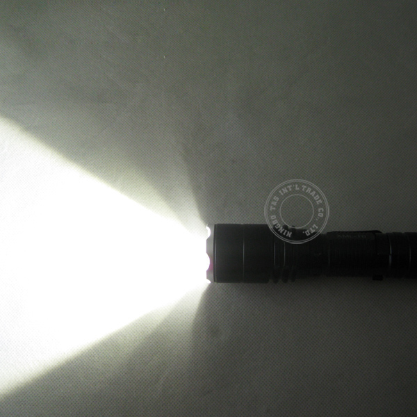Ultra Power T6 LED Aluminum Adjustable Flashlight with Pocket Clip
