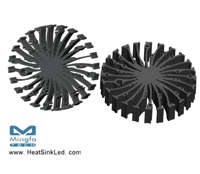 EtraLED-EDI-13020 for Edison Modular Passive LED Cooler Φ130mm