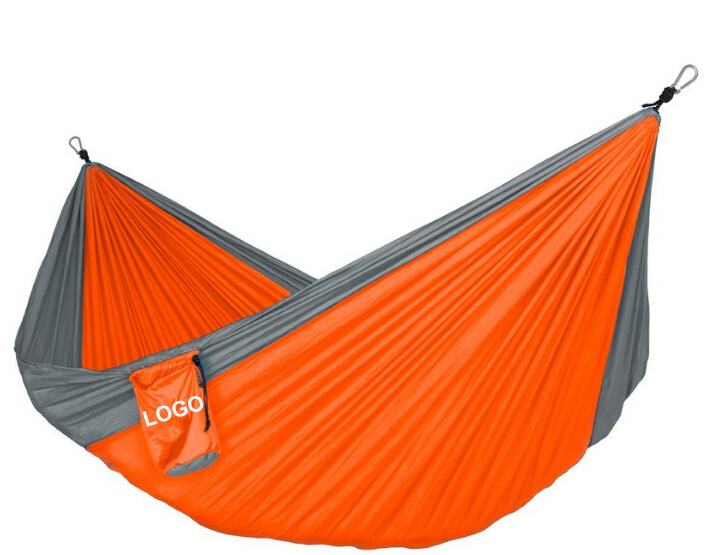 Extra light Hiking Camping Hammock with aluminum carabiners