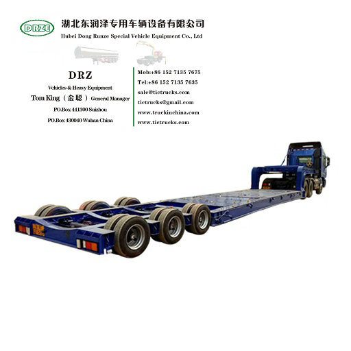 Customized Multifunctional Hydraulic Modular Trailers, Multi Axle Trailer (80T- 250T Intelligent Transportation Equipment)