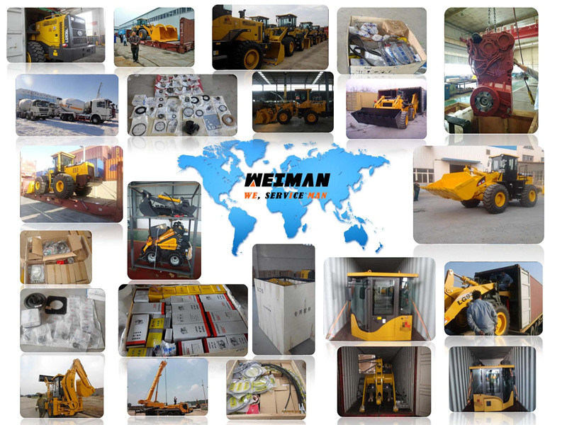 original SDLG wheel loader excavator Spare Parts WEICHAI engine LIUGONG LONKING ZF Cummins spare parts for sale 05