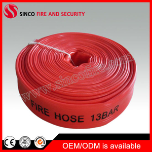 "Synthetic Rubber Fire Hose Type Available in Sizes 1.5 ""X30mtr"