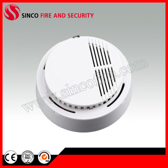 Battery Operated Fire Alarm System Stand Alone Smoke Detector Optical