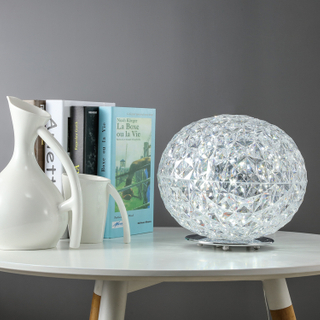 European Modern Simple Light Luxury Acrylic Creative Art Decorative Bedside Table Lamp