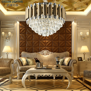 Contemporary k9 luxury crystal pendant lighting chandeliers and lamps modern