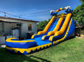 PVC Inflatable Water Slide For sale