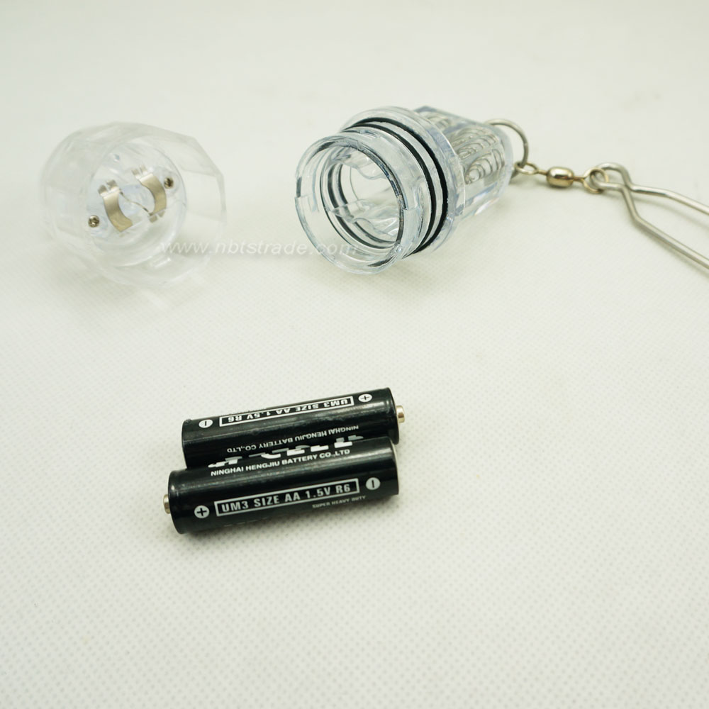 Deep Drop LED Fishing Light with Snap Clip