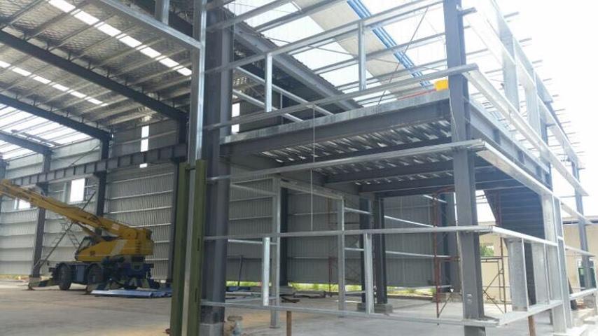 Malaysia Office inside Warehouse