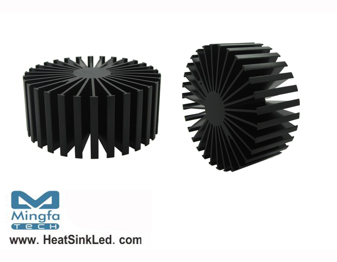 SimpoLED-BRI-11750 for Bridgelux Modular Passive LED Cooler Φ117mm
